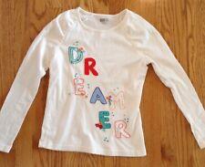Girls Crazy 8 Long Sleeve Shirt Size 10-12 Lg Free Shipping