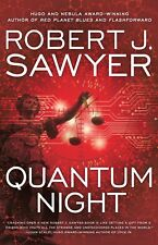 Quantum Night Robert J. Sawyer signed Canadian trade paperback edition