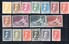 #386 THRU #402 SPAIN  EUROPE STAMPS  MINT HINGED    LOT 17790