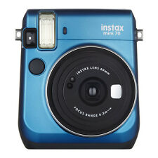 Blue Colour FujiFilm Fuji Instax Mini 70 Instant Photos Films Polaroid Camera