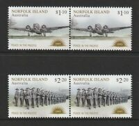 Australia - Norfolk Island 2020 : Peace in the Pacific - Stamps - Joined pairs
