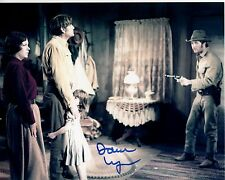 DAWN LYN hand-signed GREGORY PECK WESTERN 8x10 uacc rd coa SHOOT OUT authentic