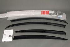 Genuine JDM Mazda 3 Axela Sedan Visor Rain Guards Set 10-13