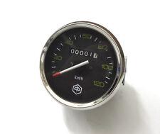 Vespa PX ALT Piaggio Tacho -1983 120 km/h Chrom Speedo Conta 80- 200 TOP NEU