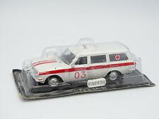 De agostini russia 1/43 - gas 24-03 volga ambulance station wagon