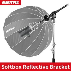 AMBITFUL AL-06 Softbox Reflector Extendable Bracket Mount For Stduio Flash