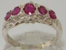 Natural Eternity Ruby Fine Rings