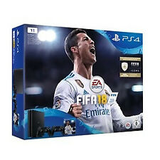 Sony PlayStation 4 Slim 1TB Spielkonsole (Inkl. 2 Controller + FIFA 18)