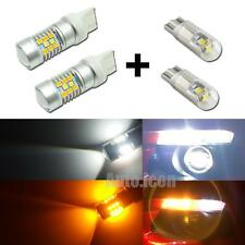 Switchback 28-SMD LED Kit For 2015-up Ford Mustang Turn Signal + Parking Bulbs