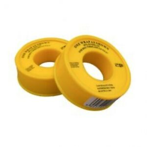 2 x Gas PTFE Tape Non-Adhesive Thread & Compression Joint Seal British Standard