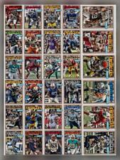 32 CARD RED BASE CARD SET Darnold/Hopkins+++ Topps HUDDLE STADIUM CLUB 2019