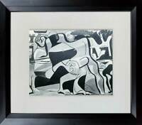 "Le CORBUSIER Lithograph  ""Three Bathers"" LTD ed. w/Custom Archive Frame"