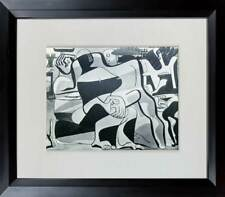 "Le CORBUSIER Lithograph ""Three Bathers"" LTD ed. w/Custom Archive Frame"
