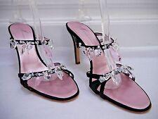 NEW GIUSEPPE ZANOTTI brillant crystal detail strappy heels sandals Italian 38.5