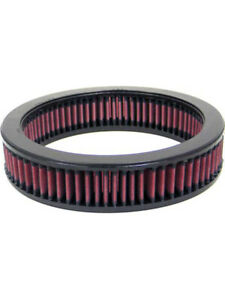 K&N Round Air Filter FOR SUBARU JUSTY I 1.2L L3 CARB (E-2630)