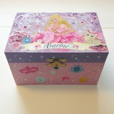 Barbie Musical Box Children Jewelry Box Three musketeers