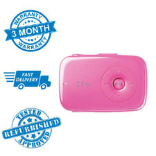 Classic Retro Creative Zen Stone 1GB MP3 Portable Music Player Pink 500 Songs