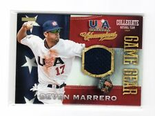 2013 Panini USA Baseball Champions Game Gear Deven Marrero Jersey Card