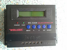 Display 30Ampere 12V 24V Solarladeregler Laderegler Regulator C2430 30A Wellsee