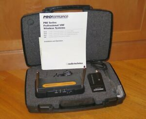 Audio Technica P87G VHF Wireless T87 Instrument/Microphone System - 169.505MHz