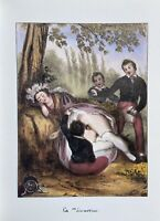 Militär Army Oral Uniform Akt Penis Vagina Antique Erotic Love Sex 1830
