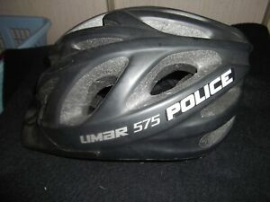 LIMAR 575 MTB Bicycle Cycling Helmet Matted Black Large (54-61)