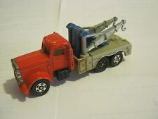 Tomica Red Heavy Duty American Tow Truck, dated 1978 (EB20-9)