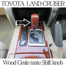 TOYOTA Genuine LAND CRUISER LC200 URJ202 Wood Grain Taste Shift Knob Japan Parts
