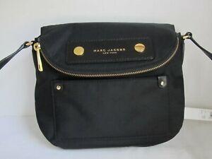 Marc Jacobs New York Black Nylon Crossbody Bag Handbag