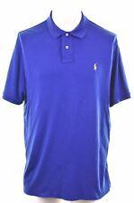 POLO RALPH LAUREN Mens Polo Shirt XL Blue Cotton  FD20