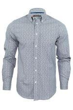 Camicie casual da uomo blu Ben Sherman