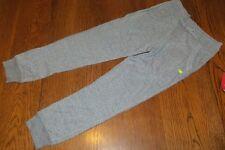 Girls M 7/8 Grey Heather Tri-Blend Ankle Jogger New Balance nwt Bow