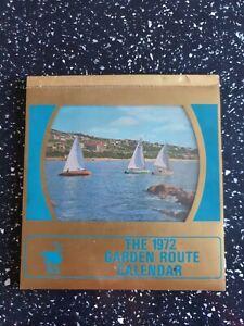The 1972 Garden Route Desktop Calendar by Protea Colour Prints