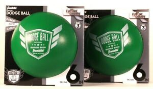 2 Ct Franklin Future Champs Official Super Skin 6 In Green Doge Ball Age 3 & Up