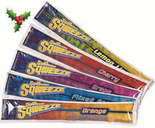 Sqwincher FROZEN SQUEEZE POPS 10Pcs Electrolyte Enhanced Ice Block,Caffeine Free