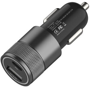 100% High Quality QC 3.0 Type C Fast Car Charger For Mobiles Phone, Bluetooth