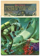 Watt Disney 20,000 Leagues Under the Sea #614 FR 1.0 Stripped Title Dell 1955