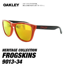 New Oakley Sunglasses Frogskins Heritage Red/Fire Iridium oo9013-34 limited