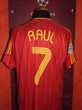 RAUL SPAIN SPAGNA WC 2006 MAGLIA SHIRT CALCIO FOOTBALL MAILLOT JERSEY SOCCER L