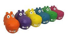 Multipet Latex Hippo Dog Toy, Color Varies    (Free Shipping)