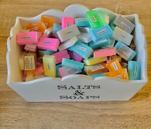 Joblot wholesale 100 hand Made SLS free guest soaps 15g