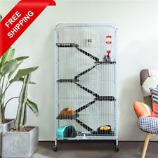 "52"" Ferret Cage for Rat Guinea Pig Chinchilla Squirrel Rabbit Hedgehog Pet House"