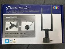 Panda Wireless PAU09 N600 Dual Band (2.4GHz and 5GHz) Wireless N USB Adapter