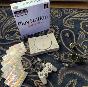 Sony Playstation 1 Original Console PS1 Boxed w/ Controller + Demo Games