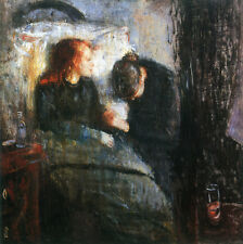 The Sick Child  by Edvard Munch   Giclee Canvas Print Repro