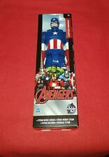 "Figurine Marvel Avengers "" Captain America "" Titan Hero Series Hasbro"