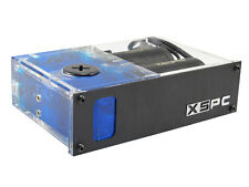 "XSPC Twin X2O 420 Single 5.25"" Drive Bay Water Cooling Reservoir & Twin Pumps"