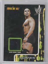 RAVEN EVENT WORN T-SRIRT RELIC 2002 FLEER WWE ROYAL RUMBLE