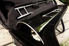 2016 NICKEL TROMBONE w/ Yamaha Kit & ELECTRONIC TUNER !