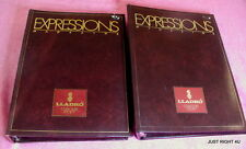 {SET OF 24} Lladro's Expressions Magazines Fall 85-Sum 92  in 2 binder